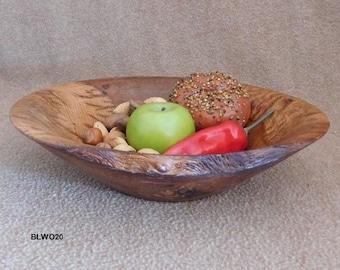 Savory & Rustic White Oak Bowl