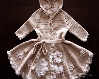 Crochet  Wool Coat