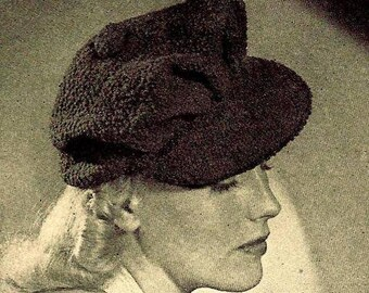 Visor Hat Crochet Pattern 723133