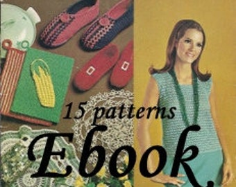Coat  Clark's OLD & NEW Favorites - Crochet and  Knitting Pattern ebook  7236003