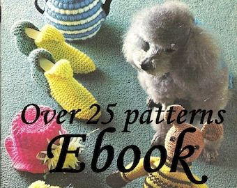 Beehive Bazaar Novelties and Gifts Crochet and  Knitting Pattern ebook  7236002