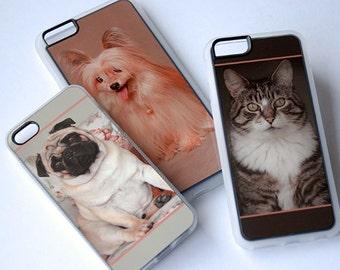 Custom Photo Phone Case, iPhone 6 Case, iPhone 6s Case, iPhone 8 Plus, iPhone 6 Plus Case, iPhone 6s Plus, 5, 5c, 6, SE Case, Clear
