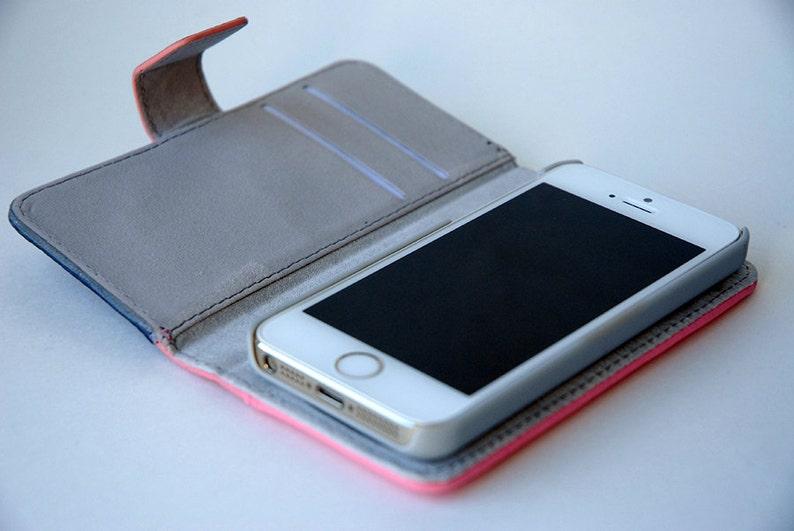 buy popular 06a5d f5134 Unique Custom Wallet Phone Case, iPhone Wallet Case, iPhone 8 wallet Phone  Case, iPhone 5s Wallet Phone Case, iPhone 5c Wallet Phone Case