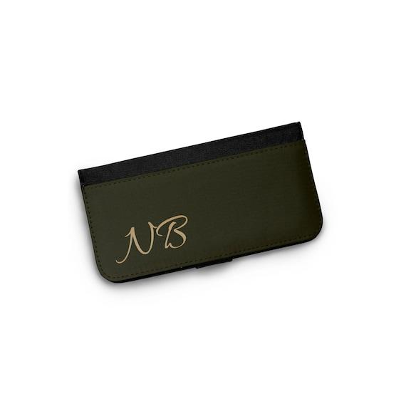 Initial Monogram Phone Wallet Case for Women Womens Wallet  74eeb257f