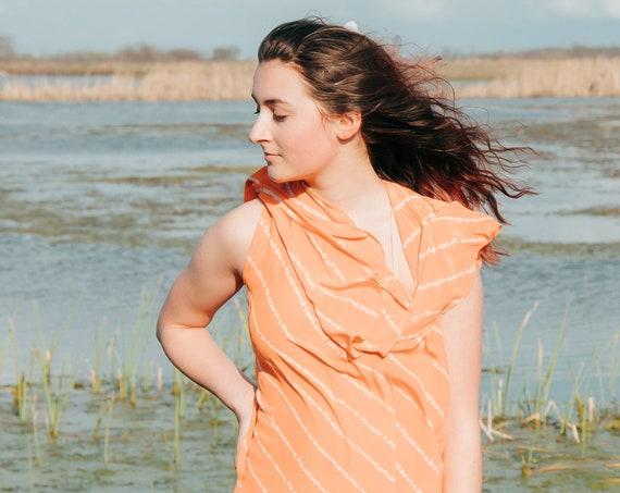 Orange Skies dress