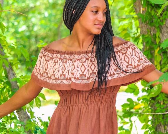 Cinnamon Girl vintage dress