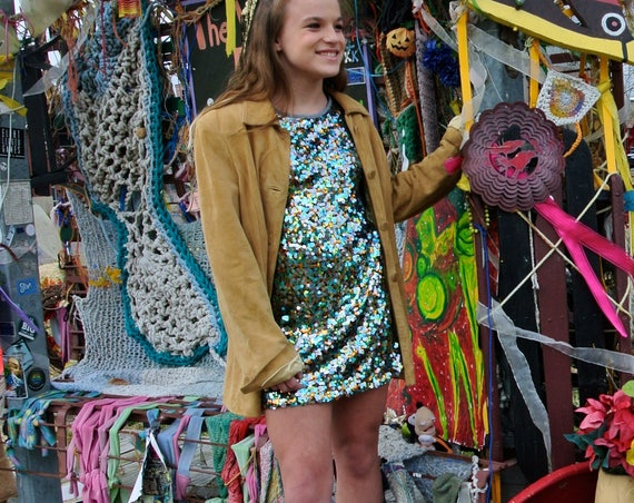 Brown Eyed Girl vintage suede jacket