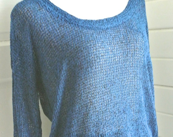 Crystal Blue Persuasion sweater