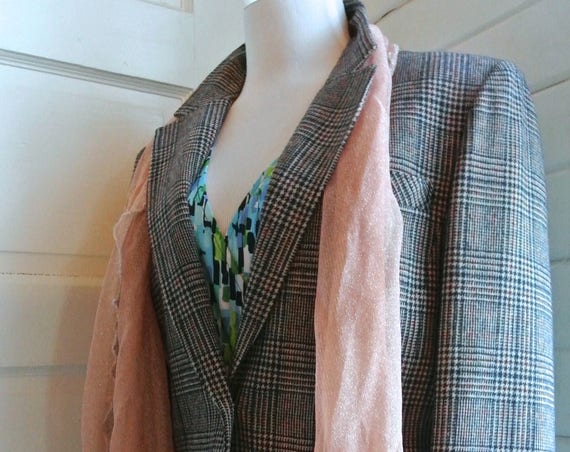 What You Won't Do For Love vintage Pendleton blazer