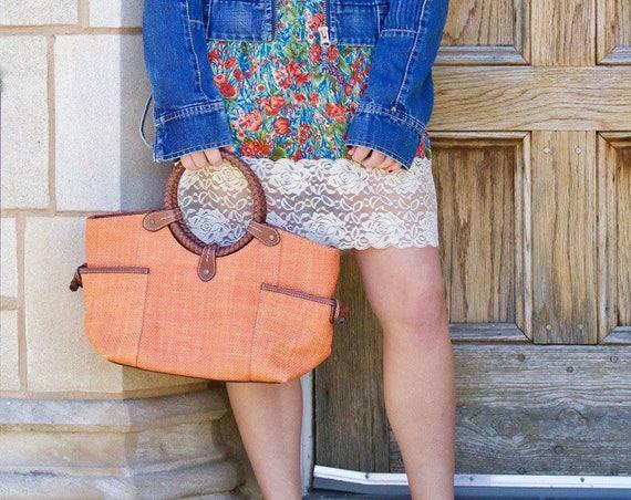 Born on the Bayou Fossil Vintage Resissue handbag