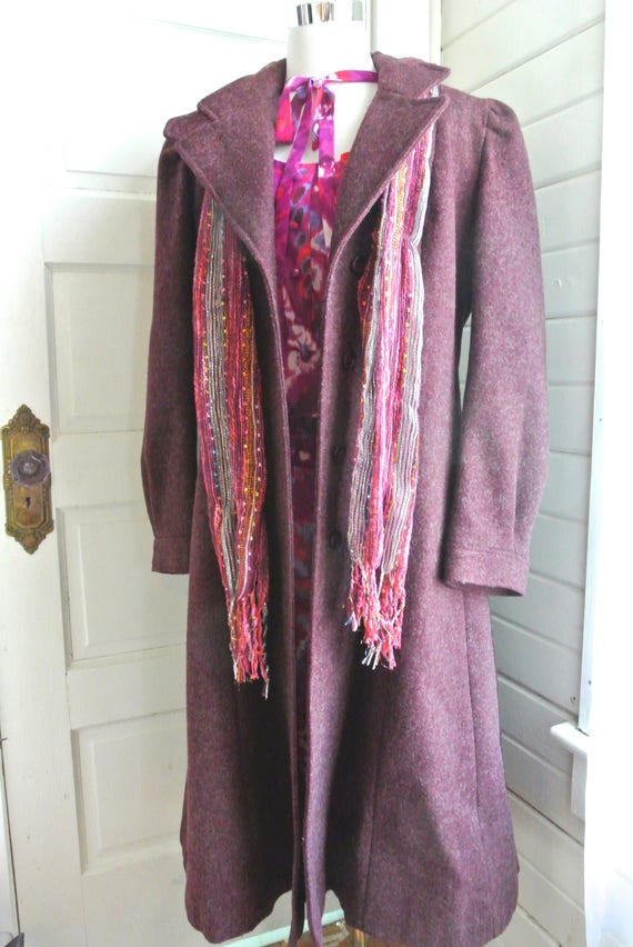 Purple Haze vintage coat