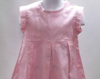 e1dc580a3 Any time dress girl dress little girls dress chambray
