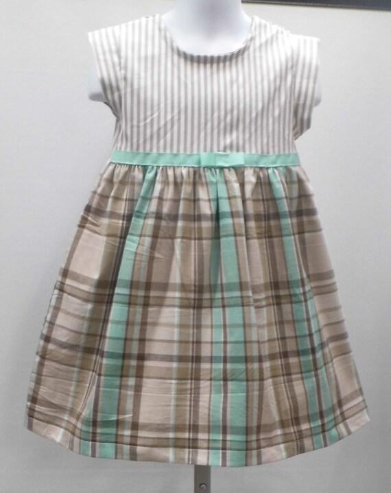 9ad76550c stripe girls dress plaid girls dress little girls dresses