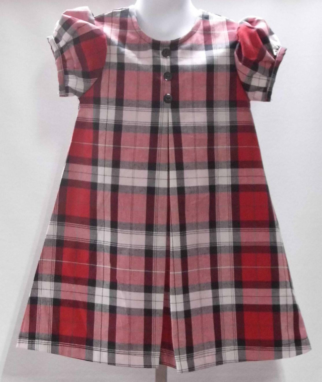 19e3ba74d Little girl dress Christmas dress holiday dressplaid dress | Etsy
