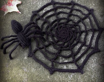 Spider And Web Crochet Pattern Book