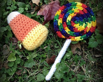 Halloween Candy Crochet Pattern Book