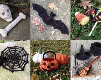 Halloween Crochet Pattern Book