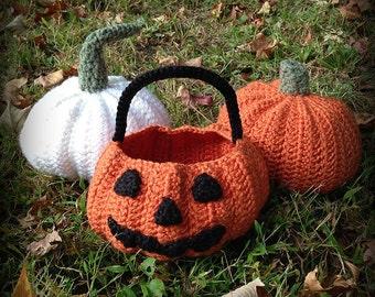 Jack O'Lantern Crochet Pattern Book