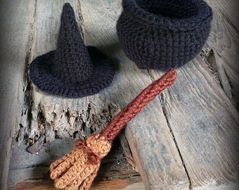 Witch Accessories Crochet Pattern Book