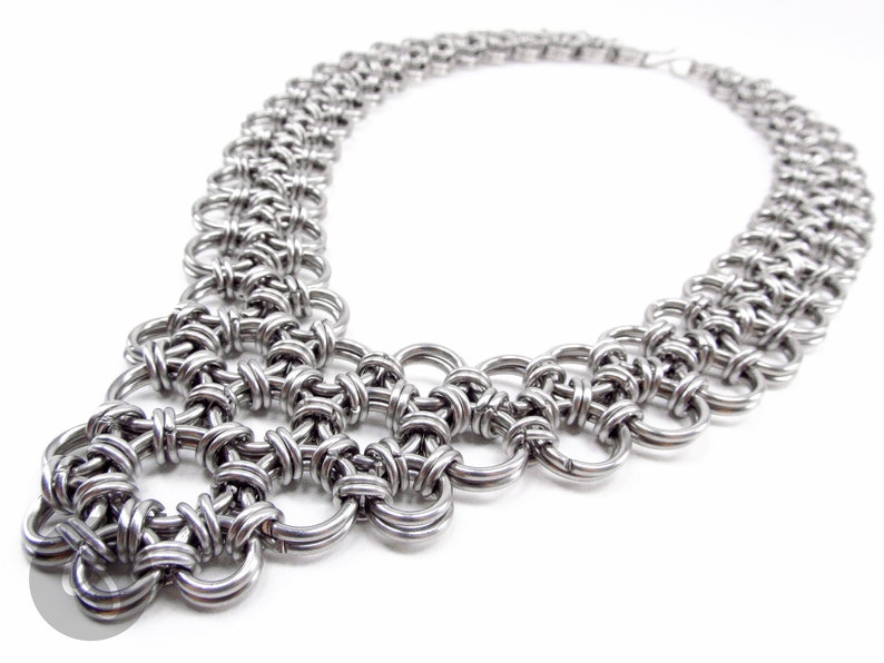 Japanese Chainmaille Wild Necklace