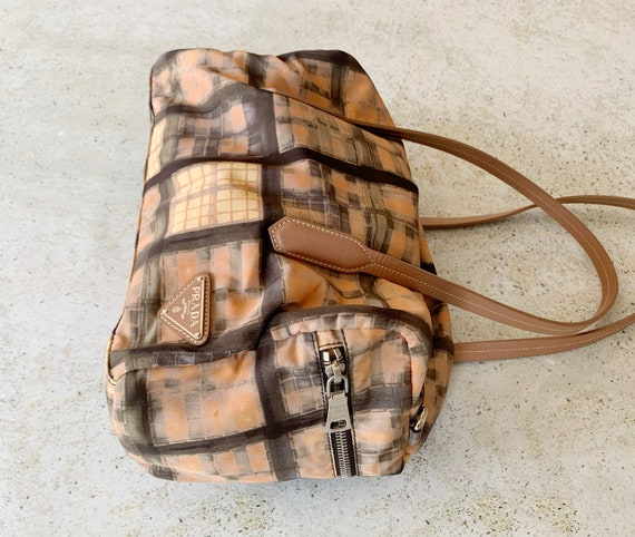 Vintage Bag | PRADA Nylon Printed Graphic Shoulde… - image 3