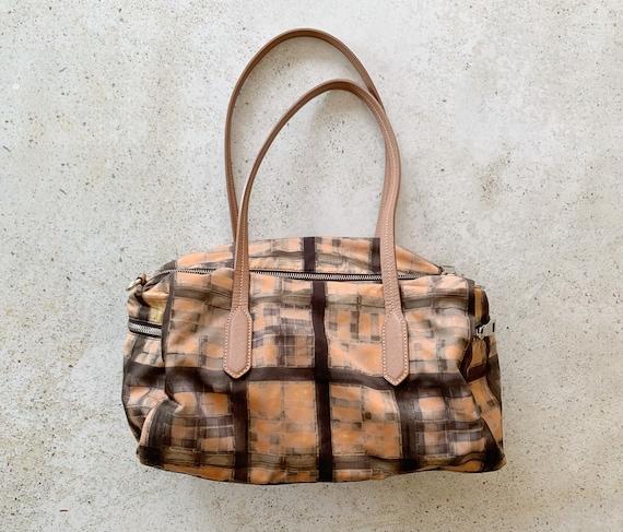 Vintage Bag | PRADA Nylon Printed Graphic Shoulde… - image 7