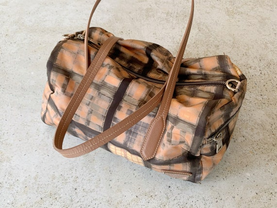Vintage Bag | PRADA Nylon Printed Graphic Shoulde… - image 9