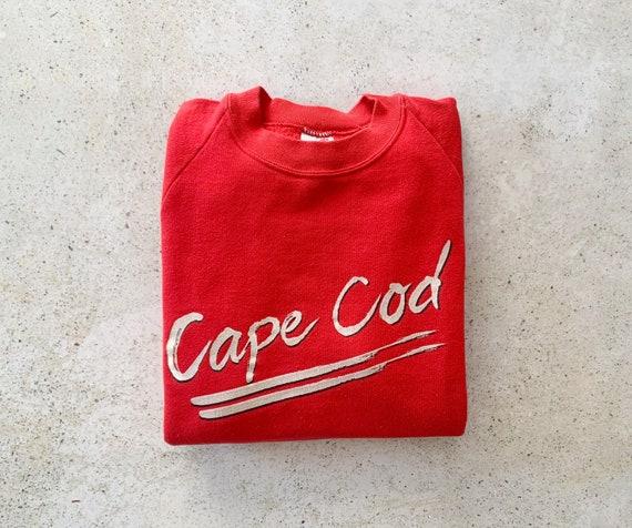 Vintage Sweatshirt   CAPE COD 80's Raglan Pullover