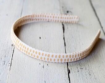 evie lala mustard headband