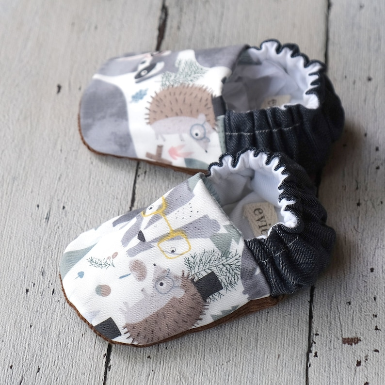 Woodlands Reversible Baby Shoes image 0