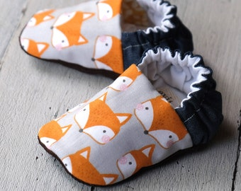Foxy Fox reversible baby shoes