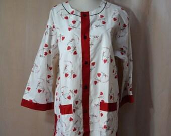 Pleetway Pajamas Valentines Pajamas Balloon Pleat Mens PJs