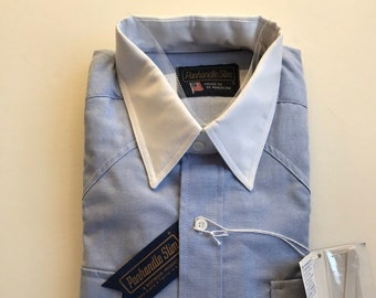 a53a5e36fa7 Panhandle Slim Men s Button Down Shirt New with Tags Golden West Collection