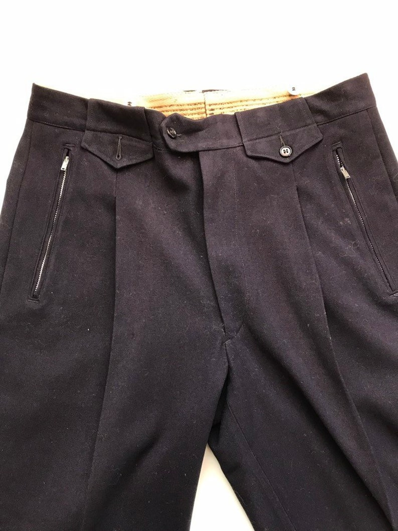 1581c99faa7 White Stag Wool Ski Pants 34 x 39 50s Ski Togs