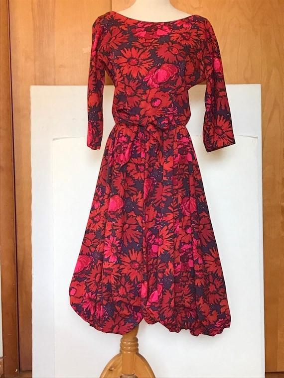 50s Jerry Gilden Spectator Dress