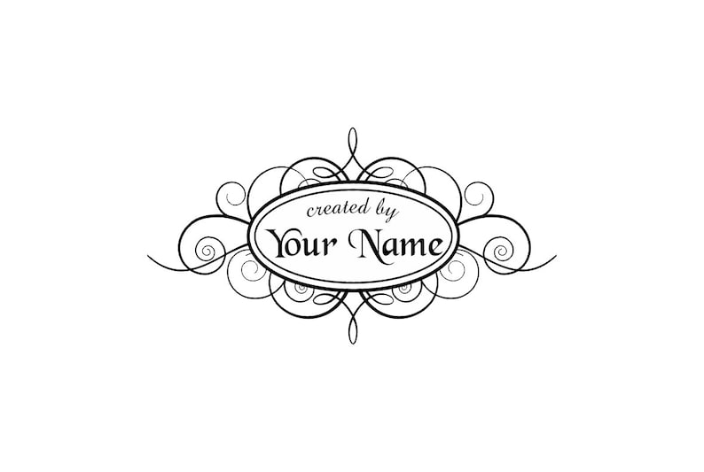 PERSONALIZED  CUSTOM MADE  RUBBER STAMPS UNMOUNTED C10