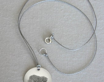 Two Trees Pendant - simple jewelry that is thoughtful, poetic and personal