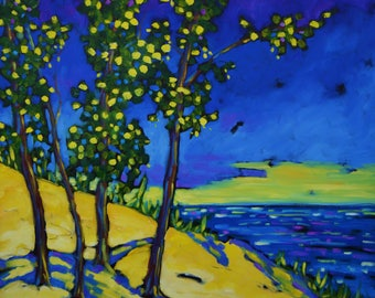 Signed  Print - Beauty the Lake Brings (#00486) by artist Christi Dreese
