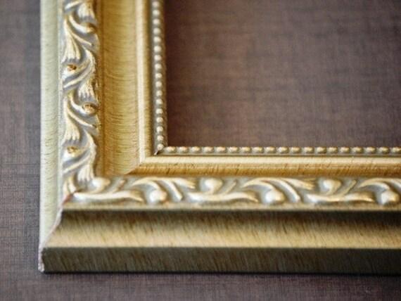 A4 Frame 8 14 X 11 34 Ornate Vintage Gold Etsy