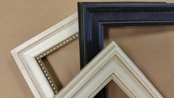 10 X 13 11 X 14 12 X 16 Custom Classic Wood Picture Frames Etsy