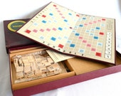 Vintage MINT In Box Scrabble Game