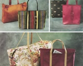 Fabulous Tote Bags, Duffles and Purses! Vintage ©2002 McCall's Fashion Accessories Sewing Pattern 3894, Uncut with Factory Folds
