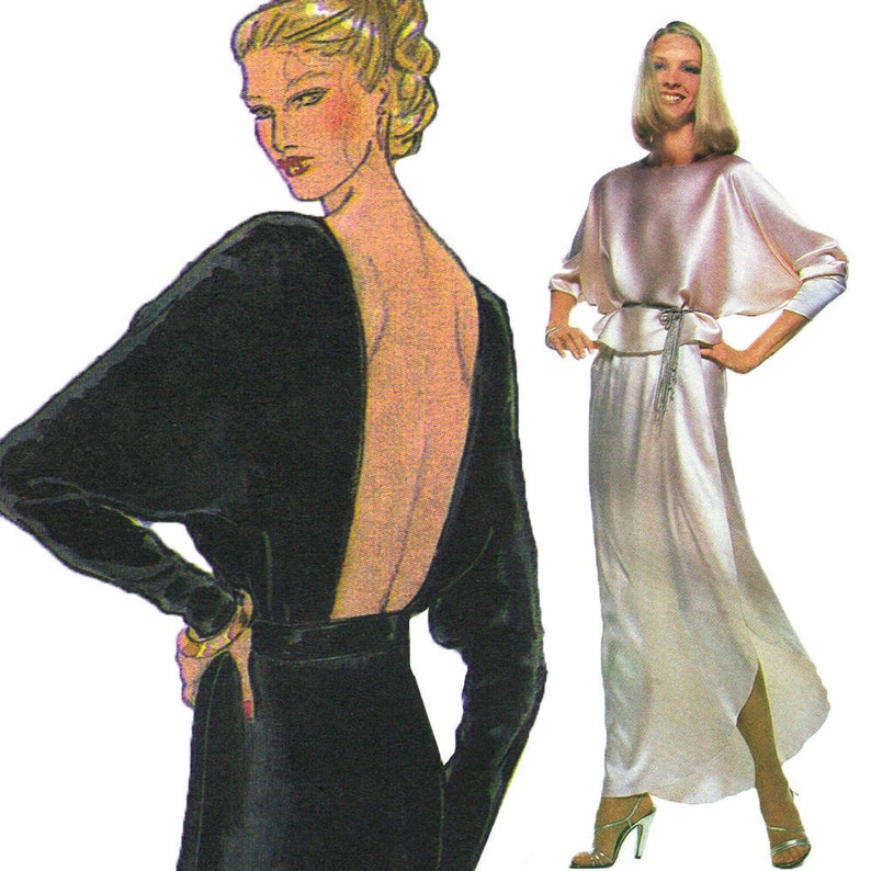 John Anthony Studio 54 Dress Vintage c. 1970s Very Easy Vogue image 0