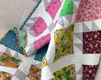 Boundless Posy Meadow Collection 100/% Cotton Fabric Sewing Quilting Quilt Backing Borders