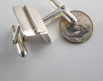 Sterling Cuff Links Great Gift Idea