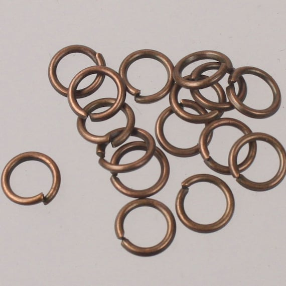NICKEL SILVER JUMP RING 16GA.WIRE I//D 7MM 200PCS.2 OZ SAW-CUT MADE IN USA