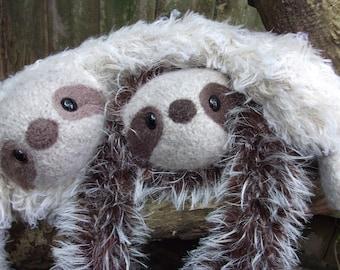 Sloth Plush Etsy