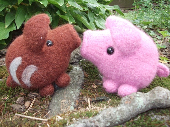 Pig Stuffed Animal Wild Piglet Plush Wild Boar Toy Made To Etsy