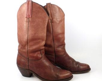 173999c37d789 Frye boots burgundy   Etsy