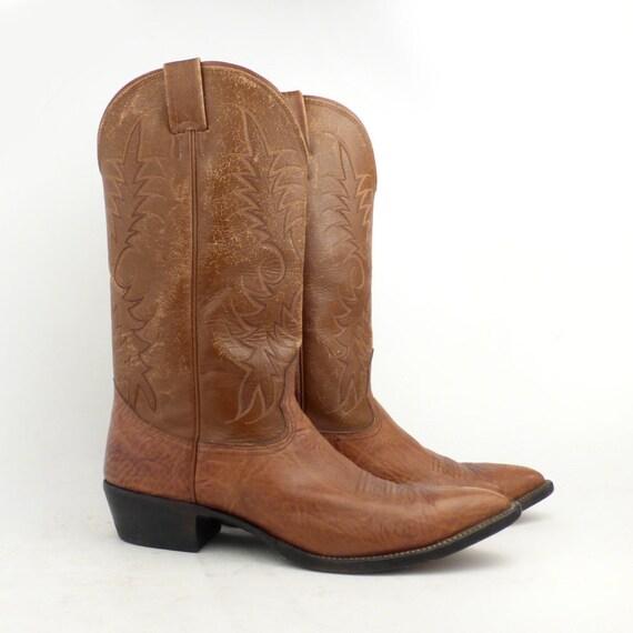 Cowboy Boots Nocona Boots Brown Cowboy Boots Vinta